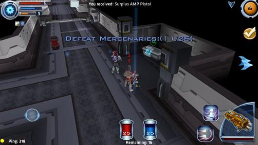 Космический баталии в онлан игре Star Legends для Android