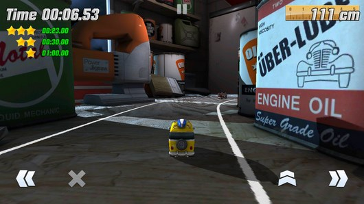 Супер гонки на мини машинках Table Top Racing для Android