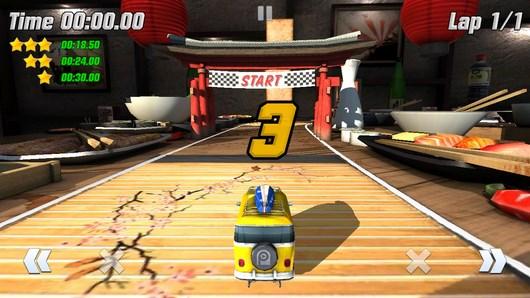 Супер гонки на мини машинках Table Top Racing для Android