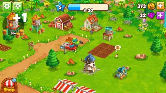 Развивайте свою ферму в Top Farm для Android