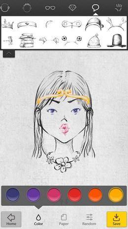 Создаем забавные портреты с Uface для Android
