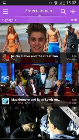 Все самое лучшее видео в Vodio для Android