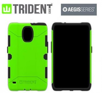 Телефон в зеленом чехле