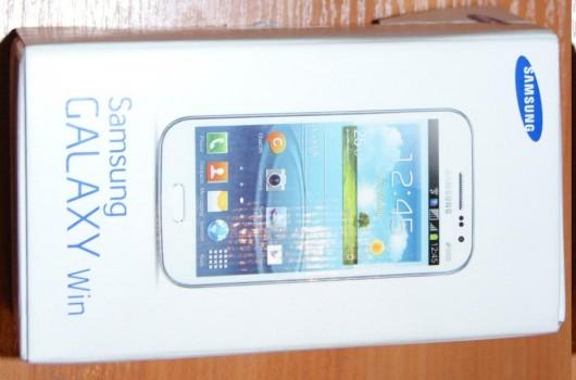 Коробка Samsung Galaxy Win