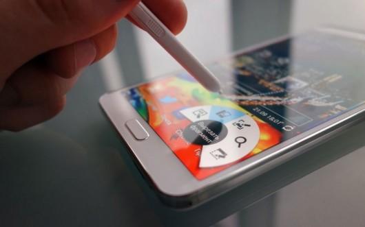Samsung Galaxy Note III, работа со стилусом