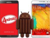 Началось обновление Android 4.4.2 KitKat для Galaxy S4 и Galaxy Note 3