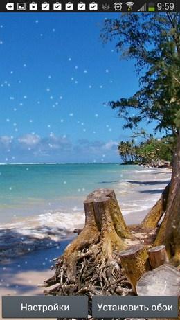 Красивый вид на океан - Beach Wallpaper для Android