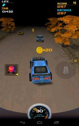 Доганяем трафик - Death Racing 2 для Android