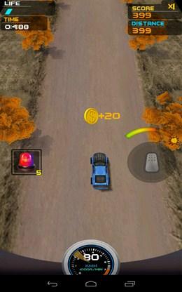 Первая монетка - Death Racing 2 для Android
