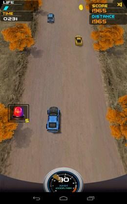 Уходим от столкновения - Death Racing 2 для Android