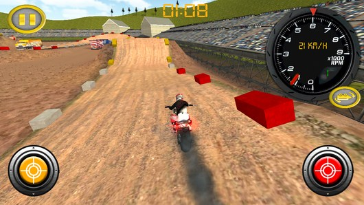 Гонки мотокросс Dirt Bike для Android