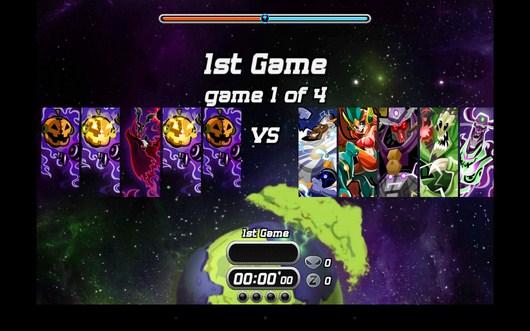 Команды соперники - Galaxy Jam для Android