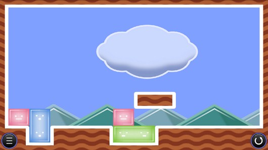 Передвигаем желейные блоки в Jelly no Puzzle для Android