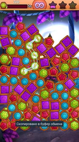 Соединяем зеленые бочонки - Puzzle Rush для Android