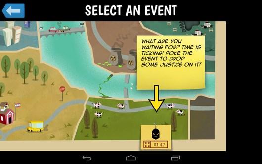 Развиваем корпорацию супергероев в стратегии Middle Manager of Justice для Android