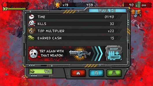 Убиваем монстров в шутере Monster Shooter для Android