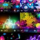 Neon Flowers Wallpapers – святящиеся цветы