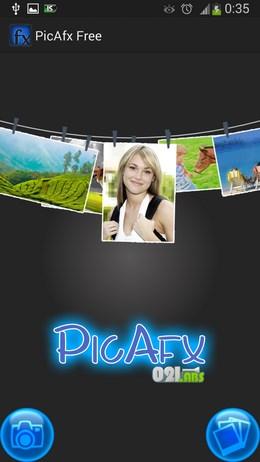Редактируем фото с помощью PicAfx Free для Android