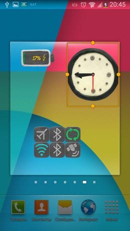 Забавные KM Пластилиновые виджеты для Android