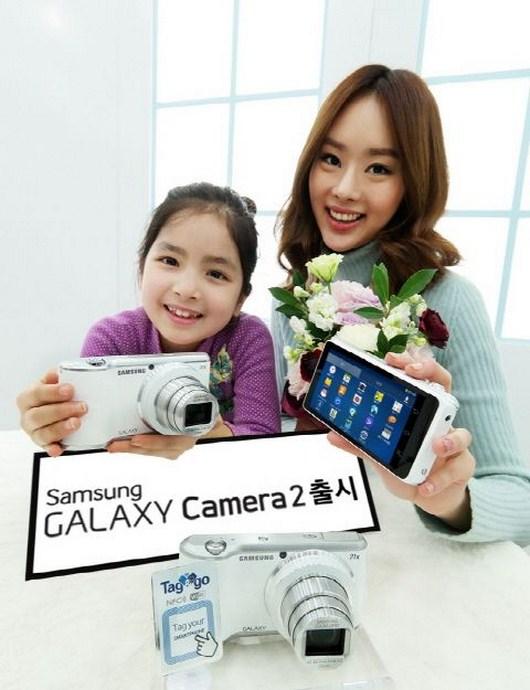 Характеристики Samsung Galaxy Camera 2 - начало продаж девайса уже в конце марта