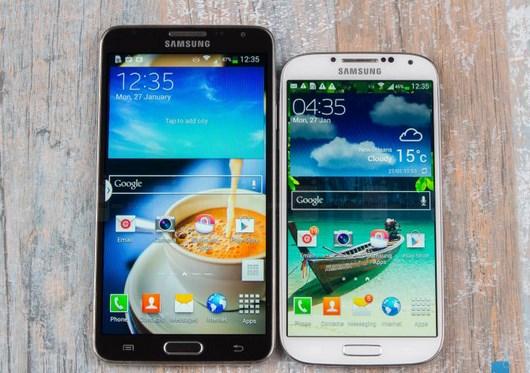 Сравнение нового Samsung Galaxy Note 3 Neo с флагманом Galaxy S4 на видео