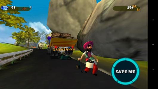 Конец игры - Balle Balle Ride для Android