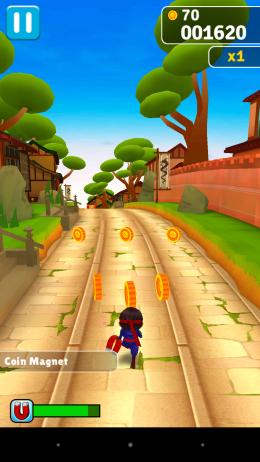 Монетки - Ninja Run для Android