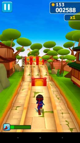 Препятствия - Ninja Run для Android