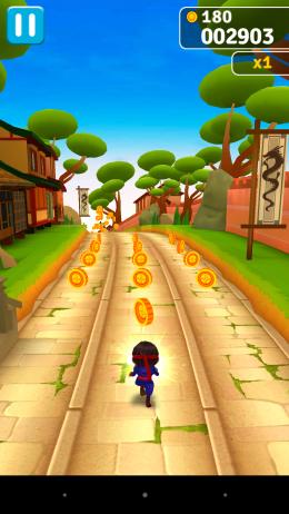 Сбор монеток - Ninja Run для Android