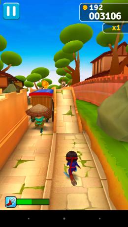 Повозка - Ninja Run для Android