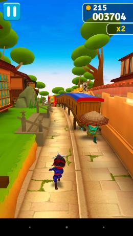 Геймплей - Ninja Run для Android