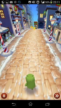 Начало игры - Stampede Run для Android