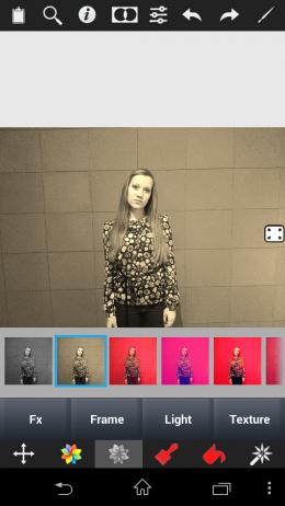 Фильтры - Color Splash Effect для Android