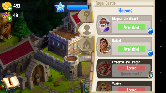 Герои - CastleVille Legends для Android