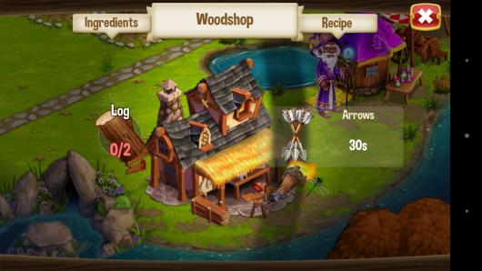 Магазин - CastleVille Legends для Android