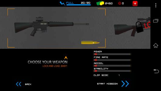 Выбор оружия - Clear Vision 3 для Android