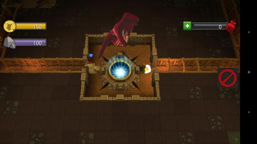 Давим курицу - Dungeon Keeper для Android