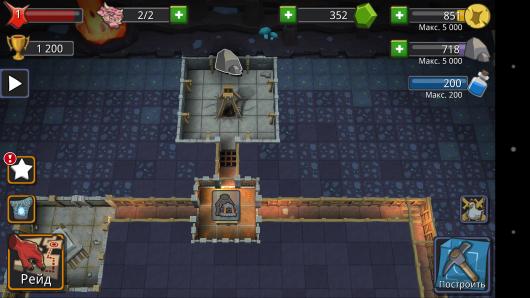 Каменоломня - Dungeon Keeper для Android