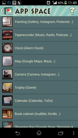 Ярлыки - AppSpace для Android