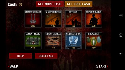 Дополнительное оружиеа - SAS: Zombie Assault 3 для Android