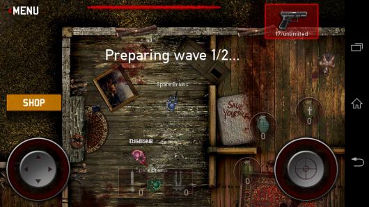 Мультиплеера - SAS: Zombie Assault 3 для Android