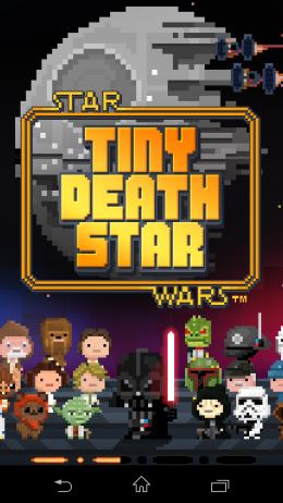 Окно загрузки - Star Wars: Tiny Death Star для Android
