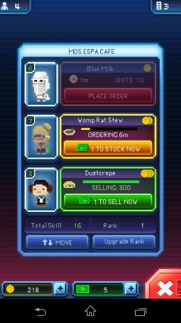 Статус выполнения поручения - Star Wars: Tiny Death Star для Android