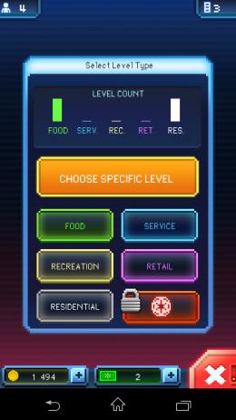 Выбор параметра - Star Wars: Tiny Death Star для Android