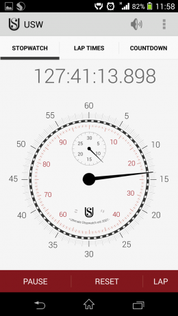 Секундомер - Ultimate Stopwatch & Timer для Android