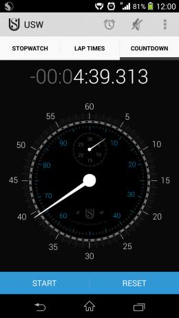 Таймер - Ultimate Stopwatch & Timer для Android