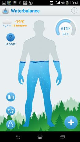 Силуэт - Waterbalance для Android