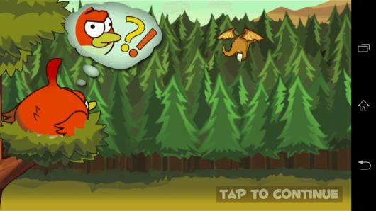 Предыстория  - Clumsy Bird для Android