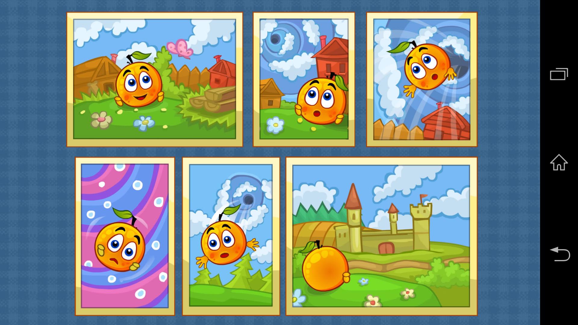 Игра Спасаем Апельсинки