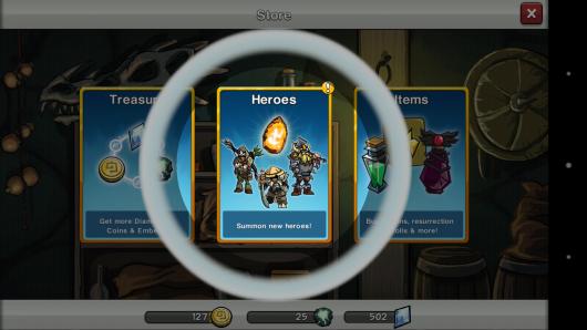 Выбор навыков - HonorBound для Android